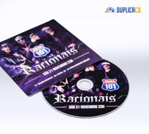 Racionais CD Promo